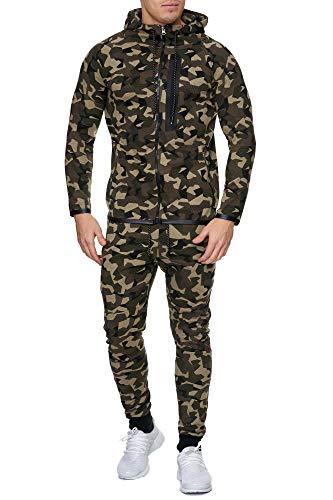 Code47 Camouflage Army joggingpak jogging broek jas sportpak heren