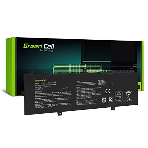 Green Cell Batería para ASUS ZenBook UX430 UX430U UX430UA UX430UN UX430UN-GV266T UX430UQ UX430UQ-GV066T Portátil (3400mAh 11.55V Negro)
