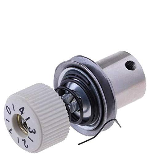 POFET 10 piezas de máquina de coser industrial universal piezas de hilo tensión de costura abrazadera de hilo