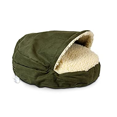 Snoozer Luxury Cozy Cave Pet Bed, X-Large, Olive