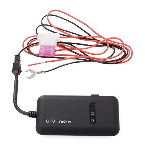 GPS Tracker, TKSTAR Auto Camión Vehículo GPS Ortung Tiempo real GPS Locator Mini GSM GPRS GPS Registrador con App gratuito GT02A