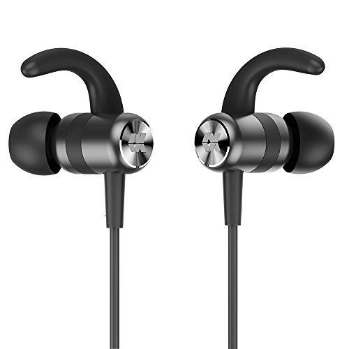 Proxelle Bluetooth Headphones in Ear Sport Magnetic Wireless Earbuds with Mic for Kids IPX5 Sweatproof Stereo Music Earphones for Running Jogging Workout Gym 6 Hour Playback for iPhone Android Solo