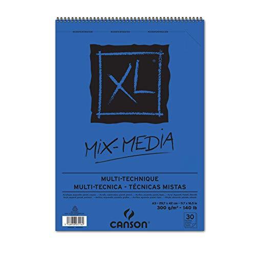 CANSON Skizzen- und Studienblock XL MIX MEDIA, DIN A3