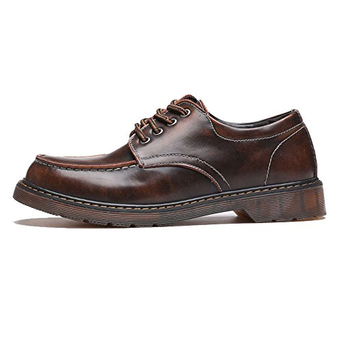 HUANGLINGLING Casual Suede Shoe Männer Loafer Schuhe aus echtem Leder Schnürschuhe Slip-ons...