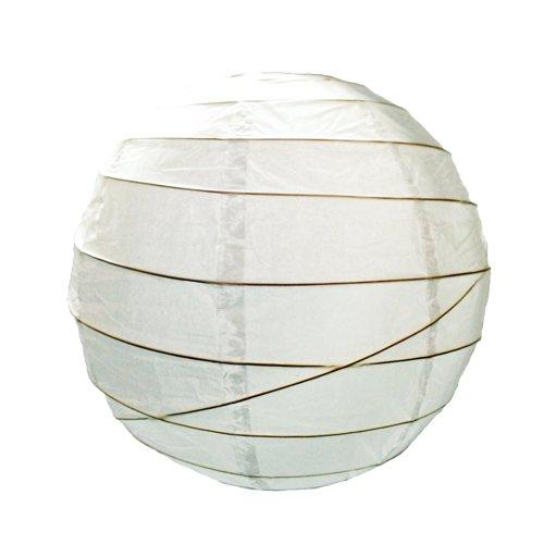 Lighting Web Abat-jour en papier Irrégulier Blanc 48 cm