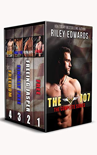 The 707 - The complete Series ( Free, Freeing Jasper, Finally Free, Freedom): A Black Ops Romance (English Edition)
