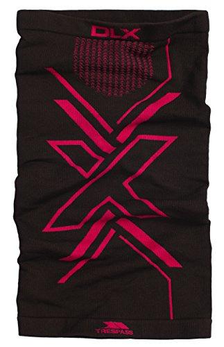 Trespass multifunctionele sjaal voor dames, te gebruiken als muts, hoofdband, halsdoek, cap, haarband, helmbescherming, hoofddoek, in piratenstijl etc. veren, zwart, EACH, FAHSSCK10001_BLKEACH