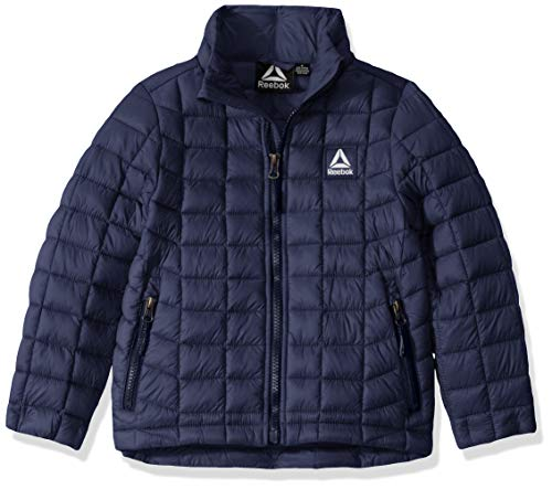 Reebok Boys' Little Active Outerwear Jacket (More Styles Available), Classic Navy, 5/6