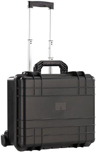 Xcase Kunststoffkoffer: Staub- und wasserdichter Trolley-Koffer, 47,5 x 39 x 20 cm, IP67 (Werkzeug Trolley)
