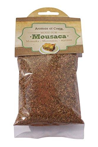 Griechisches Moussaka Gewürz Gewürzmischung für Mousakas 35 g Würz Mix von Kreta