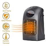 ZP-Heater Portable Fan,Radiateur Soufflant Céramique Mini Eco Safe Chauffage d'Appoint 2 Réglages Température Chaud Mode Economie Energie Ventilation Froid Ventilateur