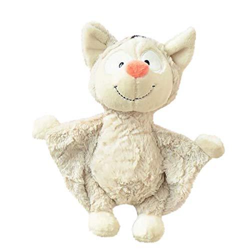 LMDGO Lustige Puppe, Stofftier, Cartoon, hässlich, keimend, für Kinder, Geburtstagsgeschenk Gr. Einheitsgröße, White-25cm