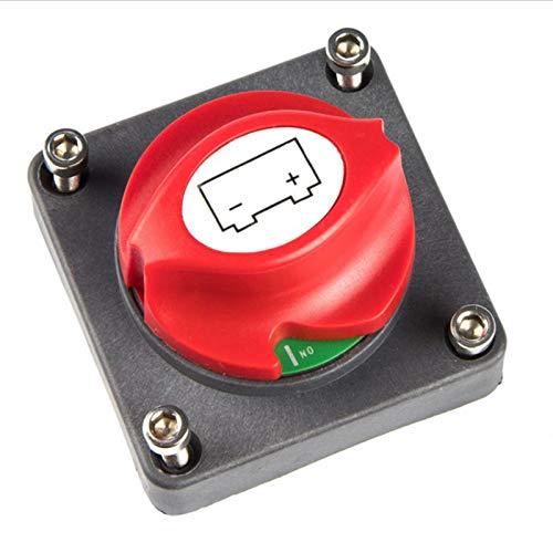 Estilismo de automóviles y accesorios corporales 600A Coche Batería Aislador Master Desconectar Power Cut Off Switch Cambiar Universal para Coche / Vehículo / RV / Barco / Marine 12 / 24V / 48V DC Aut