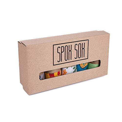 Spox Sox Low Unisex 5-er Set - mehrfarbige, bunte Sneaker Socken für Individualisten, Gr. 36-39, mehr als 1 Paar gratis – Sparpaket