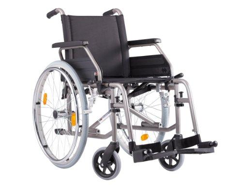 Bischoff Rollstuhl S-Eco 2 Sitzbreite 52 cm inkl. Trommelbremse