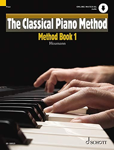 The Classical Piano Method: Method Book 1. Klavier. Ausgabe mit Online-Audiodatei.