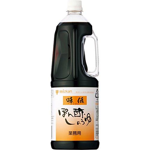 ミツカン 味伝ぽん酢しょうゆ ペット1.8L