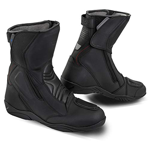 SHIMA Terra Men, botas de moto impermeables para hombre, color negro,...