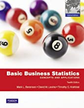 Basic Business Statistics With Mymathlab: Global Edition
