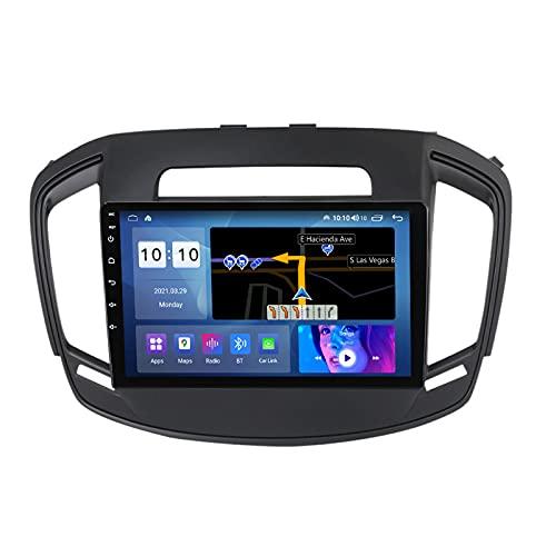 Estéreo para Coche para Opel Insignia 2013-2017 Radio Navegación GPS Android 10.0 DSP Carplay 10.1 Pulgadas IPS Pantalla táctil BT 4G WiFi SWC con cámara de Respaldo