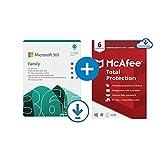 Microsoft 365 Family | fino a 6 persone | 1 abbonamento annuale |12+3 Mesi | PC/Mac | Codice via email +...