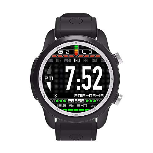 Reloj Inteligente smartwatch Android 6.0 de 1,3 Pulgadas con Pantalla táctil, Red 4G, WiFi, Tarjeta SIM; descargar; Reloj de Pulsera GPS Compatible con iPhones y teléfonos Android
