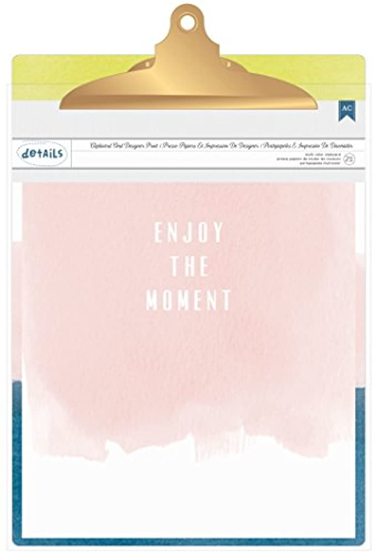 American Crafts 370809 Designer Desktop Printed Clipboard, Variety, 9 x 12.5