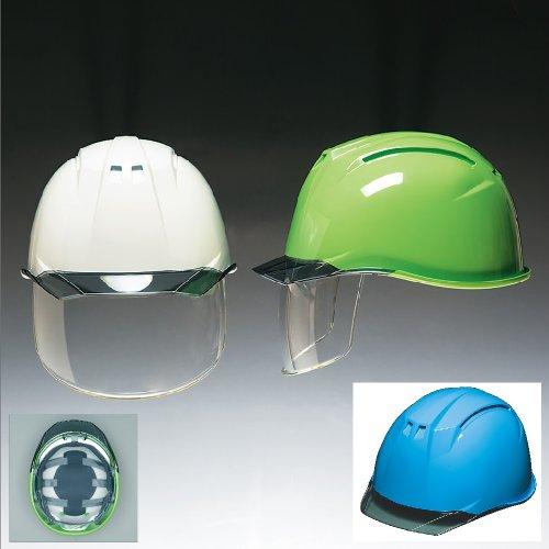 高品質 安全ヘルメット[DIC HELMET]安全ヘルメット(AP11-CS)アクアブルー×スモーク