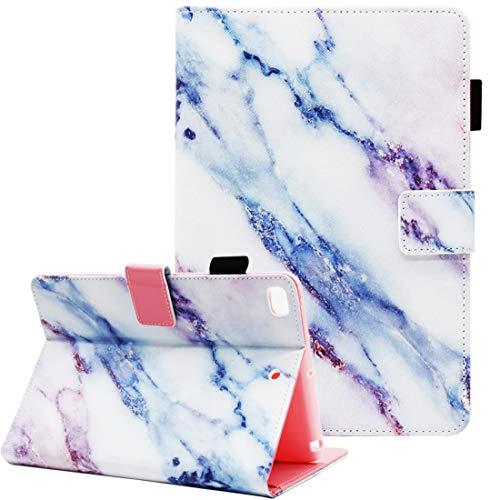 iPad Mini Case, iPad Mini 4 Case, iPad Mini 2/3 Case, iPad Mini 5 Case, Fvimi Multi-Angle Viewing Folio Smart Leather Cover with Auto Sleep/Wake for 7.9' iPad Mini 2/3/4/5, Marble