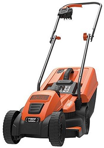 BLACK+DECKER 1200W Edge-Max Lawn Mower with 32 cm Cut/ 35 L...