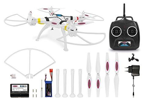 Jamara 422012 Quadrocopter, weiß