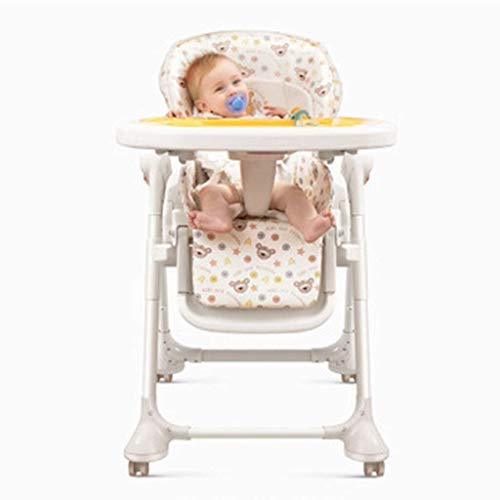 Find Discount RENKUNDE Baby Rocking Chair Dining Chair Combo Chair, Foldable and Convenient to Store Cradle Chair, Widening and Widening Fabric Soft and Gentle Vibration Comforting Chair Baby Rocking Chair