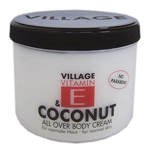 Village 9506-04 Coconut Body Cream 500ml mit Vitamin E