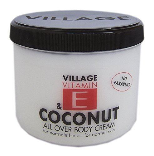 Village 9506-04 Coconut Body Cream 500ml mit Vitamin E