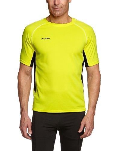 Jako Herren T-Shirt Attack 2.0, Neongelb/Schwarz, XL, 6172-03