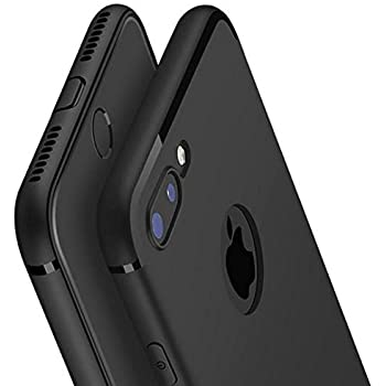 Generic Shock Proof Back Cover for Apple iPhone 7 Plus (Black)