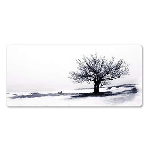 Art Noir et Blanc Arbre Creative Tree Pad de Souris Haute...