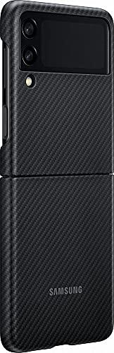 SAMSUNG XF711SBE Aramid Standing Cover for Galaxy Flip 3, Black (Naujas)