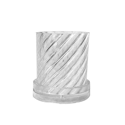 Doe-het-zelf kaarsvorm, handgemaakt, ronde spiraal, geurkaars, kunststof