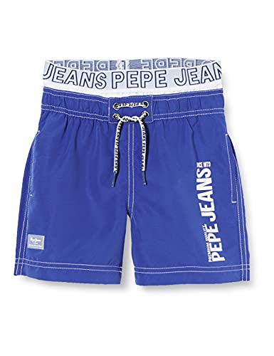 Pepe Jeans Jungen LUCCAS Badehose, 593royal Blue, 14