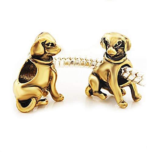 Andante-Stones 14K Gold Bead