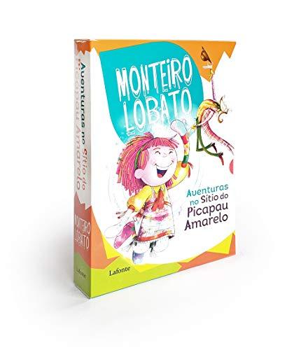 Box Monteiro Lobato - 4 Volumes: As Aventuras no Sítio do Picapau Amarelo