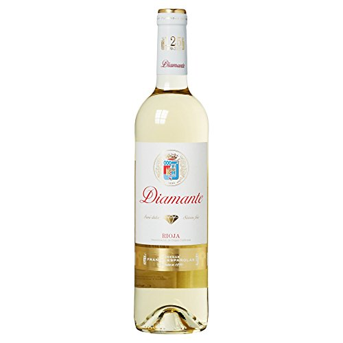 Diamante - Vino Blanco Rioja Semi Dulce Botella 75 cl