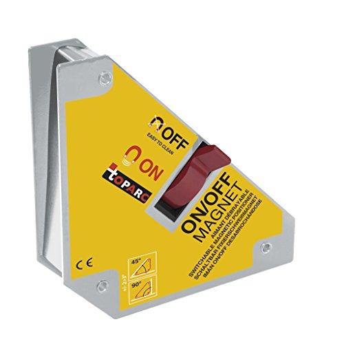 GYS 044197 - Squadra magnetica, disattivabile, 45/90 gradi