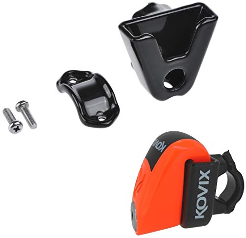 Farbe Fluo Orange KS6-FO KOVIX KS6 Series-BLOCCADISCO mit USB-Ladeger/ät