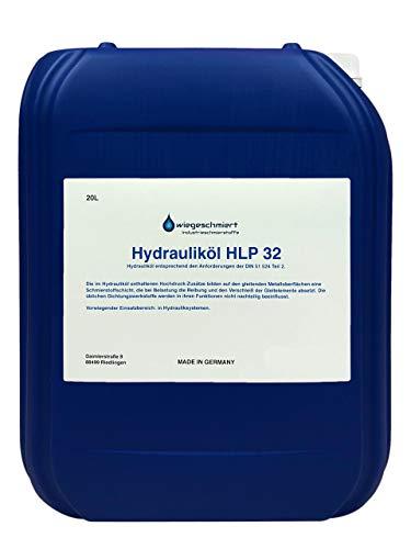 Hydrauliköl HLP 32 ISO VG 32 Nach Din 51524 Teil 2 (20 Liter)