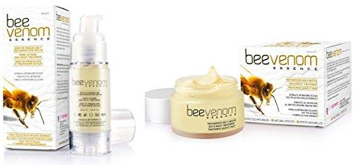 SET Bienengift 30 ml SERUM + 50 ml CREME Gesichtscreme Hyaluronsäure BIO Anti Age Bee Venom Hautpflege -362-set-
