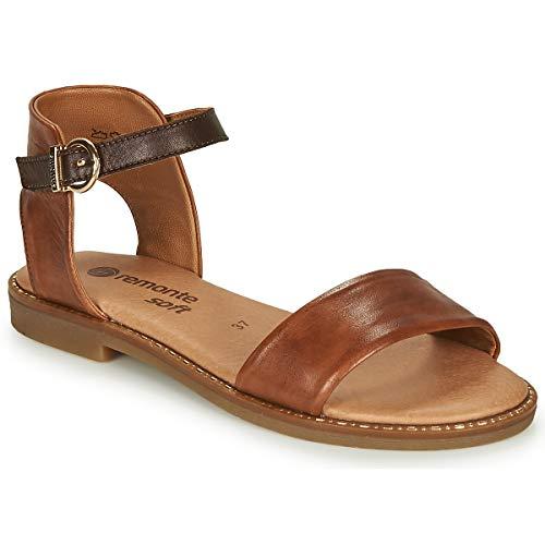 REMONTE DORNDORF NALATA Sandalen/Open schoenen dames Cognac/Bruin Sandalen/Open schoenen