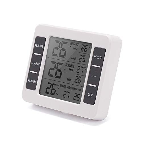 Creative Indoor en Outdoor Elektronische Thermometer Home Hotel Koelkast Thermometer Alarm Thermometer