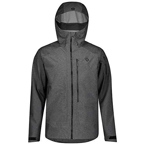 Scott M Explorair 3L Jacket Grau, Herren Dermizax™ Jacke, Größe L - Farbe Dark Grey Melange